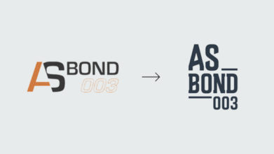 July 2018 : New brand image for AS Bond 003